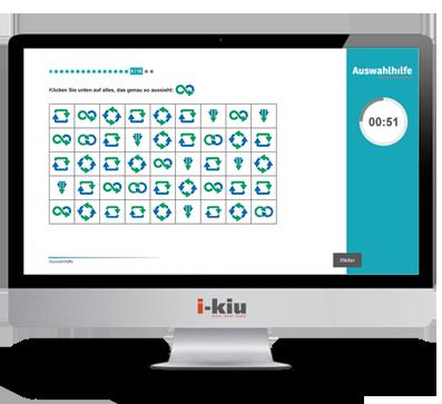 Testsystem Beispielfrage Azubitest - i-kiu ibw