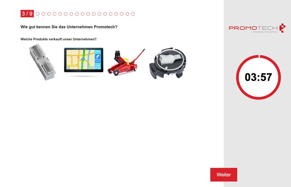 Promotech Kunststoff- und Metallverarbeitungsges.m.b.H. Auswahlhilfe Online-Azubitest Referenz