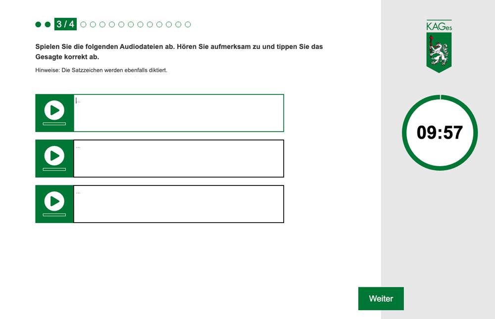 Steiermärkische Krankenanstaltengesellschaft KAGES Auswahlhilfe Online-Azubitest Referenz